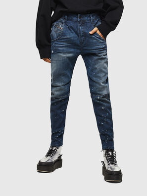 Fayza JoggJeans 083AS, Dark Blue - Jeans