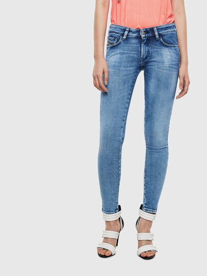 Diesel - Slandy Low 0095P, Light Blue - Jeans - Image 1