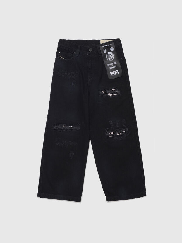 WIDEE-J-SP, Black - Jeans