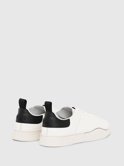 Diesel - S-CLEVER LS, White/Black - Sneakers - Image 3