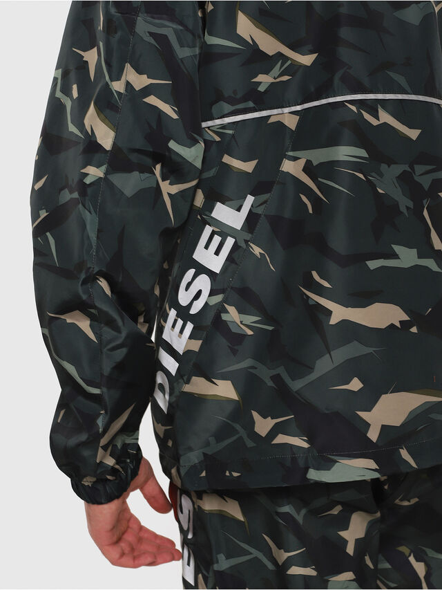Diesel - BMOWT-WINDSEA-P, Green Camouflage - Out of water - Image 4