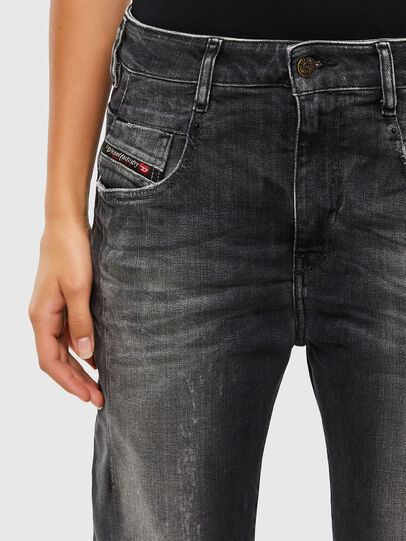 Diesel - Fayza 009IU, Black/Dark grey - Jeans - Image 3