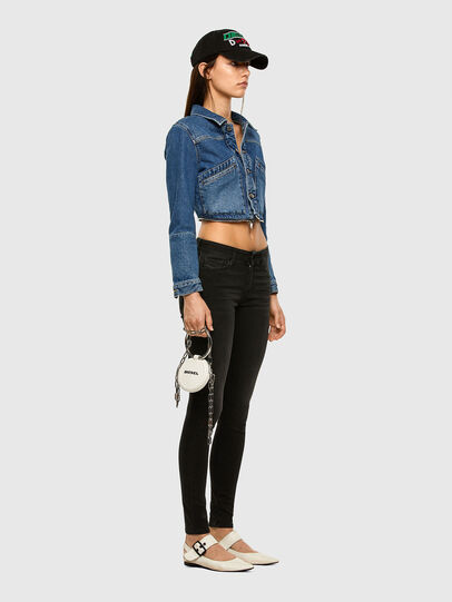 Diesel - Slandy 069GG, Black/Dark grey - Jeans - Image 5