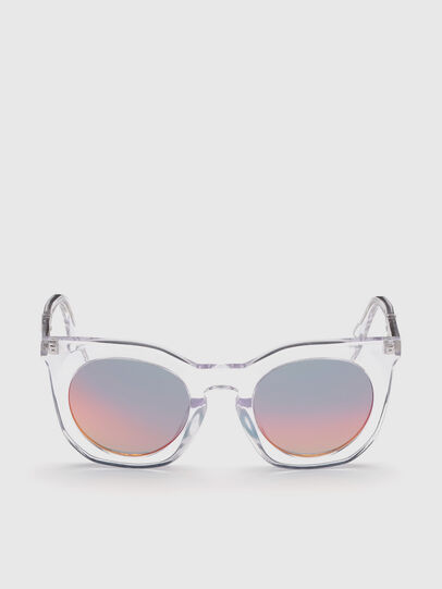 Diesel - DL0283, White - Sunglasses - Image 1