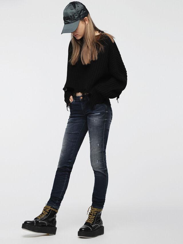 Diesel Gracey JoggJeans 0686W, Dark Blue - Jeans - Image 3
