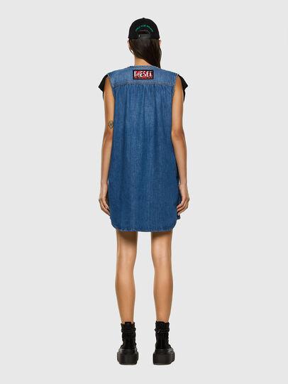 Diesel - M-BYRNE, Black/Blue - Dresses - Image 6