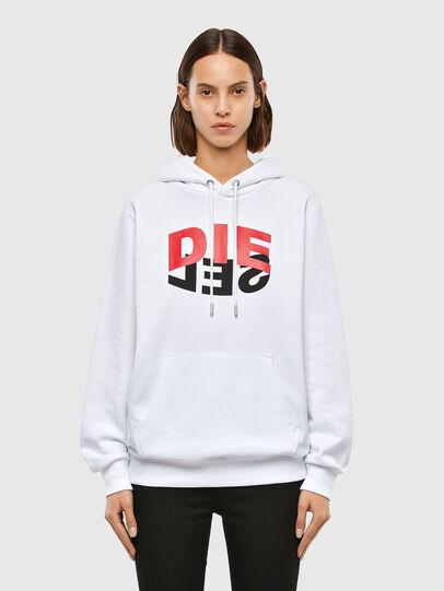 Diesel - S-GIRK-HOOD-N1, White - Sweaters - Image 2