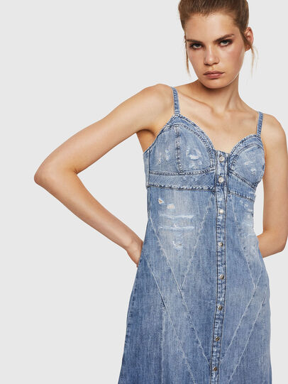 Diesel - DE-ARIN, Light Blue - Dresses - Image 3