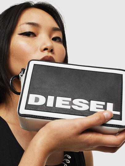 Diesel - ROSA', Black/White - Crossbody Bags - Image 6