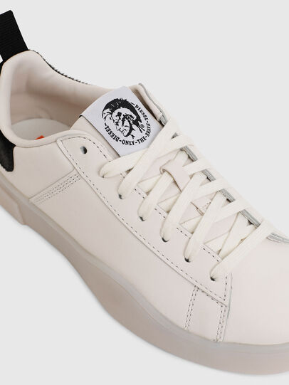 Diesel - S-CLEVER LOW LACE W, White/Black - Sneakers - Image 4