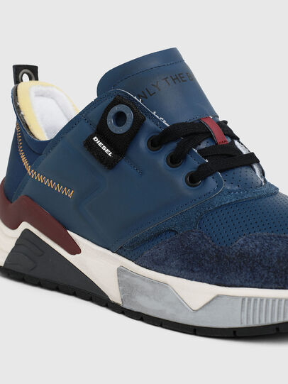 Diesel - S-BRENTHA LC, Blue - Sneakers - Image 5