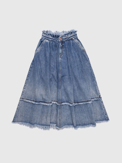 Diesel - GLULABY, Blue Jeans - Skirts - Image 1