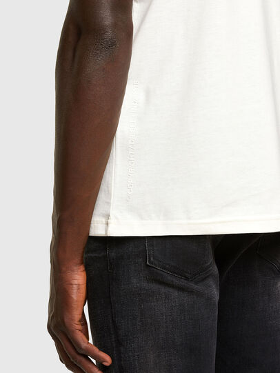 Diesel - T-DORYMO-A1, White - T-Shirts - Image 3