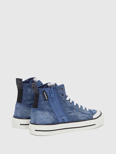 Diesel - S-ASTICO MID ZIP W, Blue Jeans - Sneakers - Image 3
