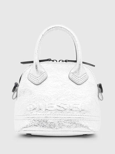 Diesel - PYANIGA S, Silver - Crossbody Bags - Image 1