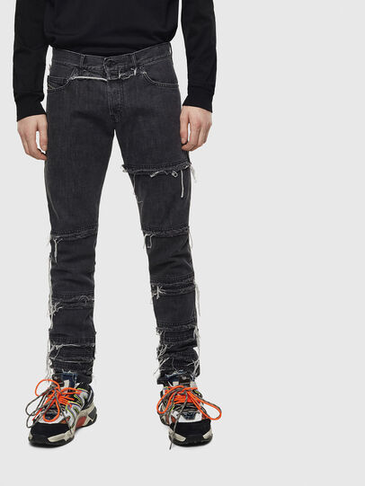 Diesel - D-Kras 009CD, Black/Dark grey - Jeans - Image 1