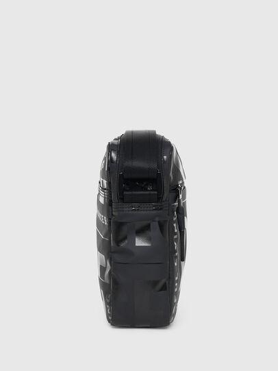 Diesel - X-BOLD DOUBLE CROSS, Black - Crossbody Bags - Image 3