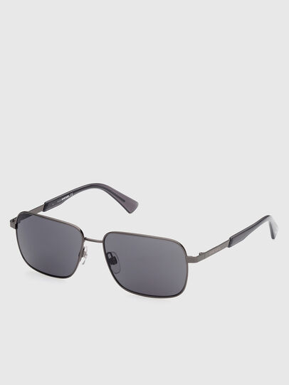 Diesel - DL0354, Grey - Sunglasses - Image 2