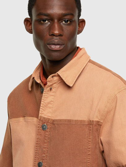 Diesel - D-CORUS-SP JOGGJEANS, Brown - Denim Shirts - Image 3
