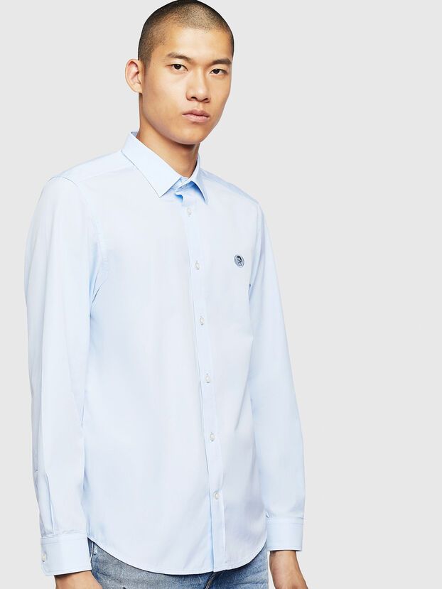 S-BILL, Light Blue - Shirts