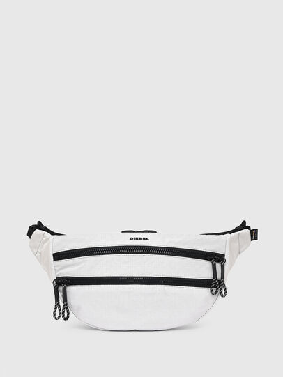 Diesel - F-URBHANITY BUMBAG, White - Belt bags - Image 1