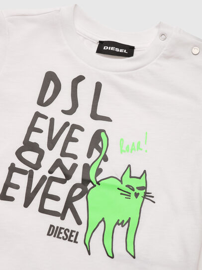 Diesel - TORTUB, White - T-shirts and Tops - Image 3