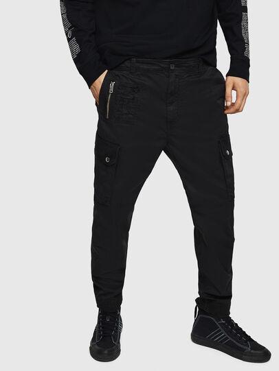 Diesel - P-PHANTOSKY, Black - Pants - Image 1