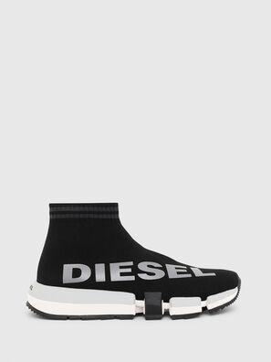H-PADOLA MID SOCK W, Black - Sneakers