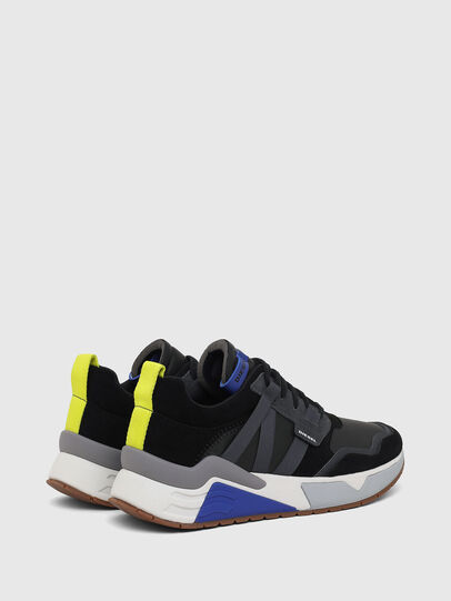 Diesel - S-BRENTHA WL, Black - Sneakers - Image 3