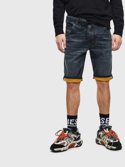 Diesel - D-KROOSHORT JOGGJEANS,  - Shorts - Image 5