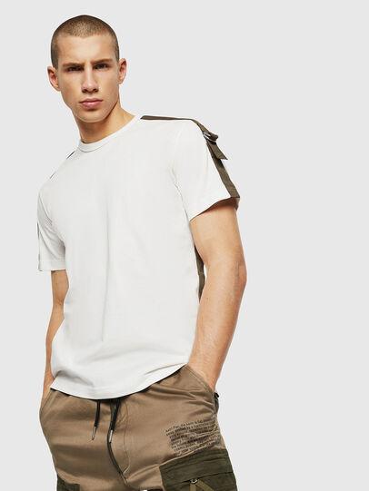 Diesel - T-VAS, White - T-Shirts - Image 1