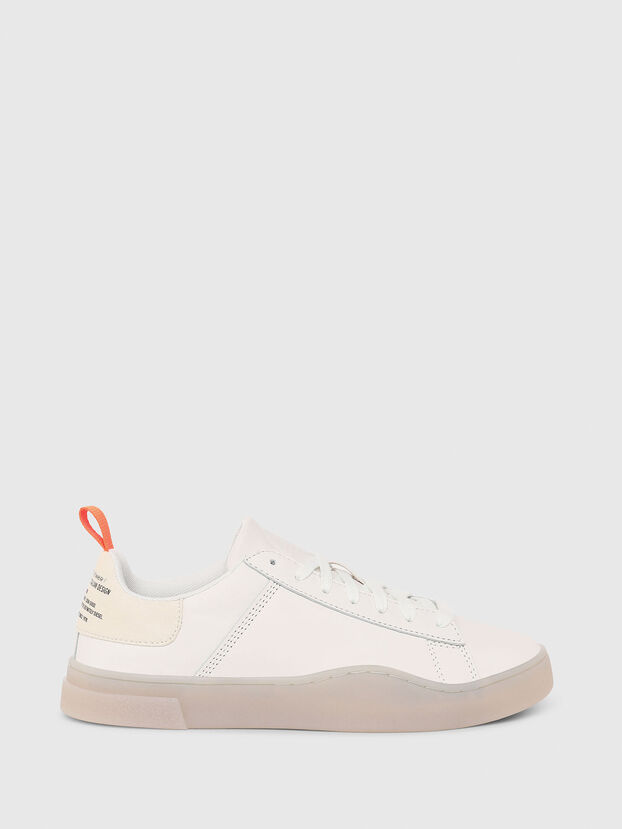 S-CLEVER LOW LACE W, White - Sneakers