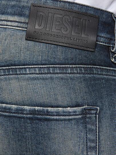 Diesel - Sleenker 069NI, Dark Blue - Jeans - Image 4