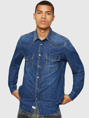 D-EAST-P, Blue Jeans - Denim Shirts