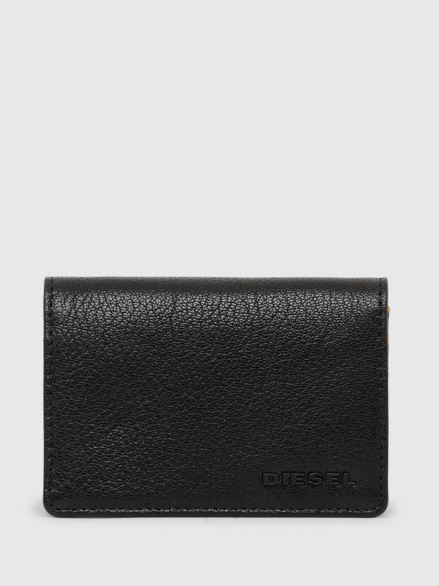 DUKEZ, Black/Orange - Small Wallets