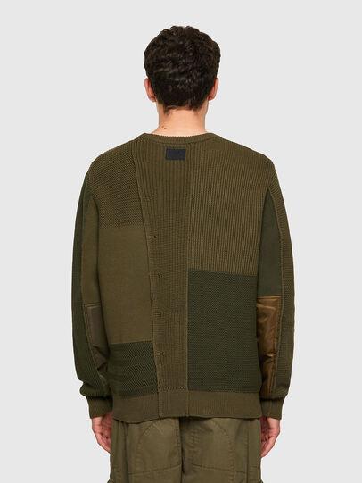 Diesel - K-YUKON, Military Green - Knitwear - Image 2