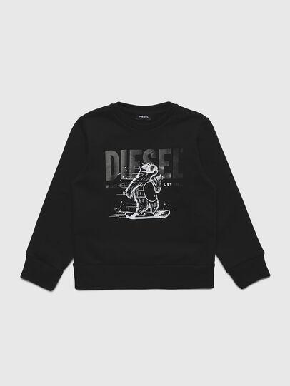 Diesel - SBEAR-TSE, Black - Sweaters - Image 1