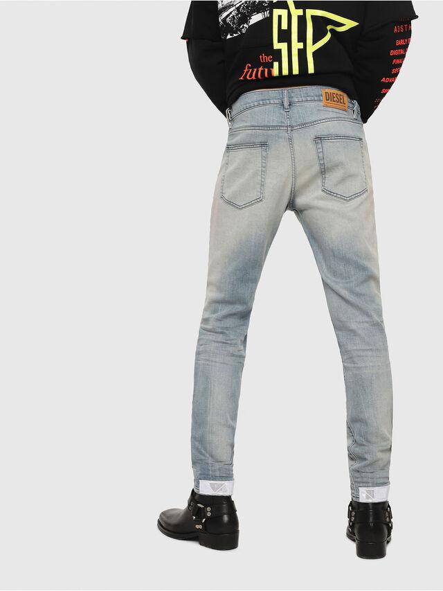 Diesel - D-Strukt 081AP, Light Blue - Jeans - Image 2