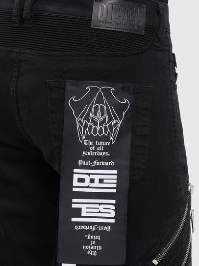 Diesel - D-Dean 069QV, Black/Dark grey - Jeans - Image 4