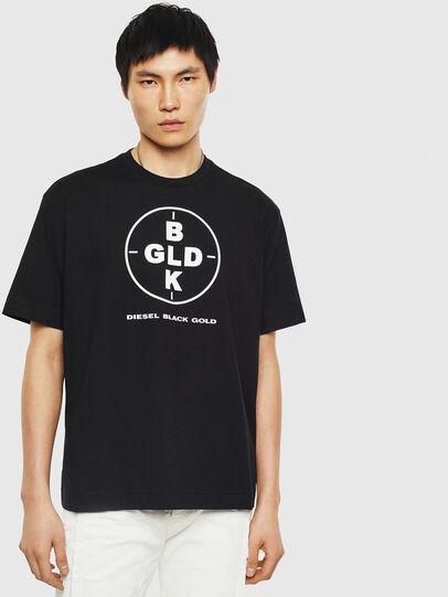 Diesel - TEORIALE-B, Black - T-Shirts - Image 1