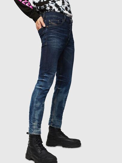 Diesel - D-Eetar 0097U, Dark Blue - Jeans - Image 4