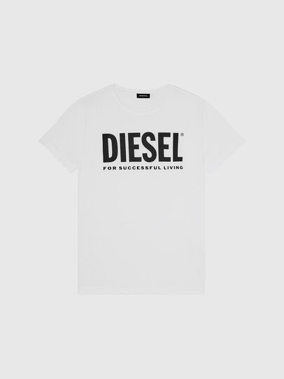 Diesel - T-DIEGO-LOGO, White - T-Shirts - Image 1
