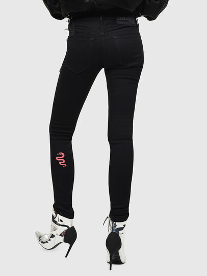 Diesel - Slandy 069KX, Black/Dark grey - Jeans - Image 2