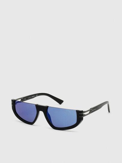 Diesel - DL0315, Black - Sunglasses - Image 2