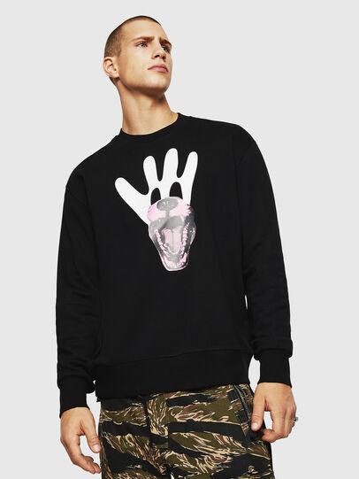 Diesel - S-BAY-BX4, Black - Sweaters - Image 1