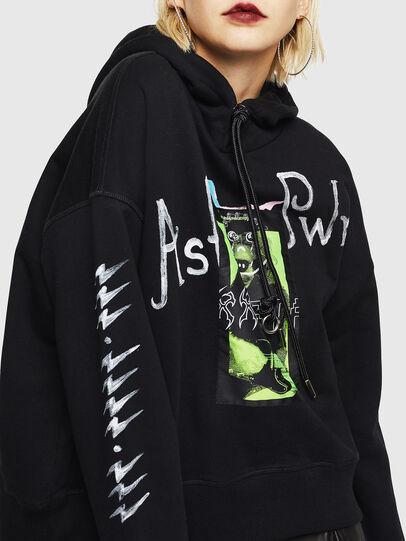 Diesel - F-MAGGY, Black - Sweaters - Image 4