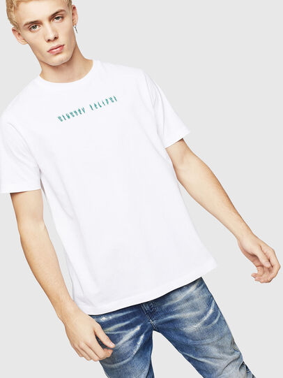 Diesel - T-JUST-A4, White - T-Shirts - Image 1