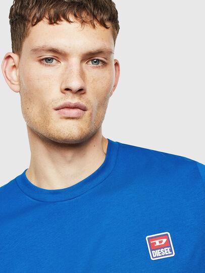 Diesel - T-DIEGO-DIV, Blue - T-Shirts - Image 3