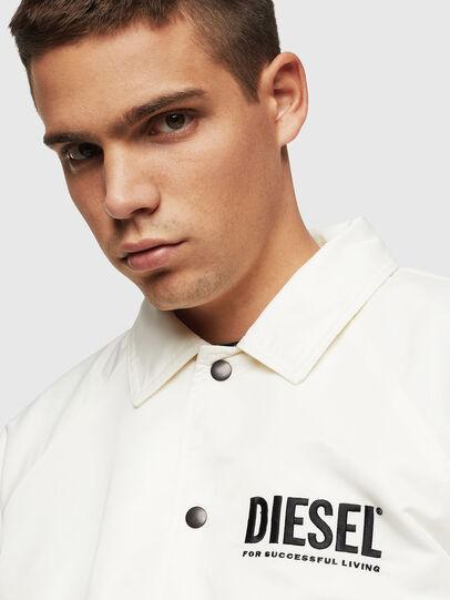 Diesel - J-AKIO-A, White - Jackets - Image 3