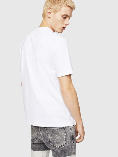 Diesel - T-JUST-A9, White - T-Shirts - Image 2